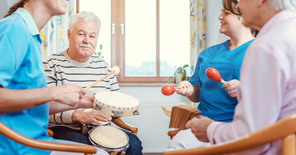 Music therapy helps stroke victim recover quicker