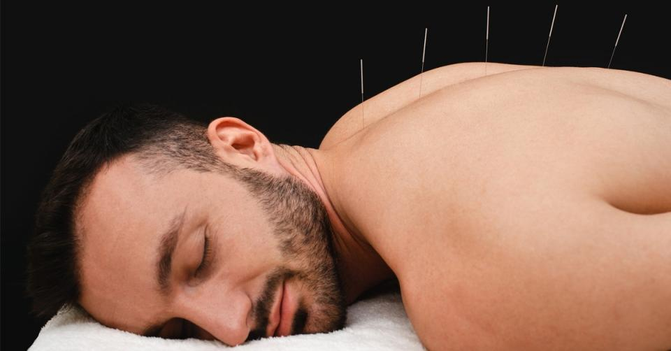 Acupuncture treats pain better than opioids