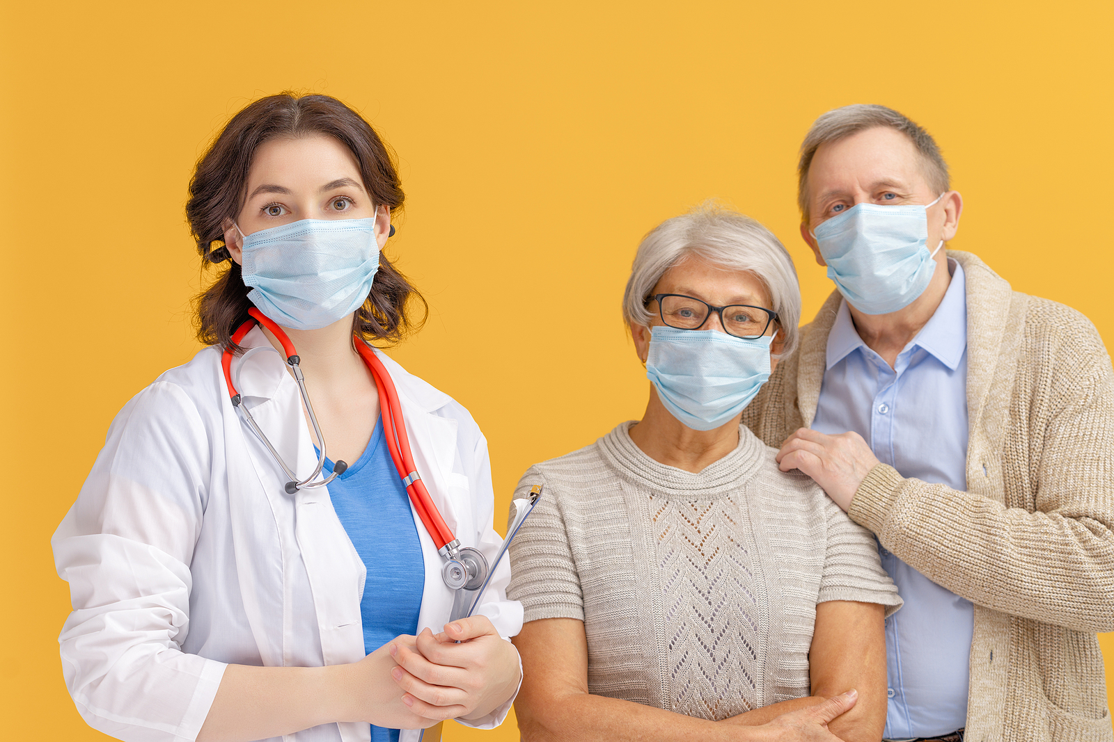 Wearing a face mask doesn't prevent Covid infection