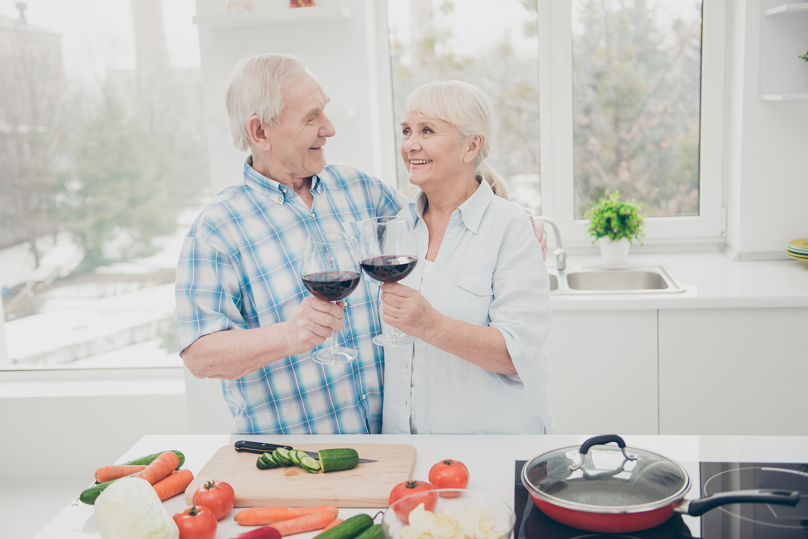 Cheese and red wine every day keep us mentally sharp as we age
