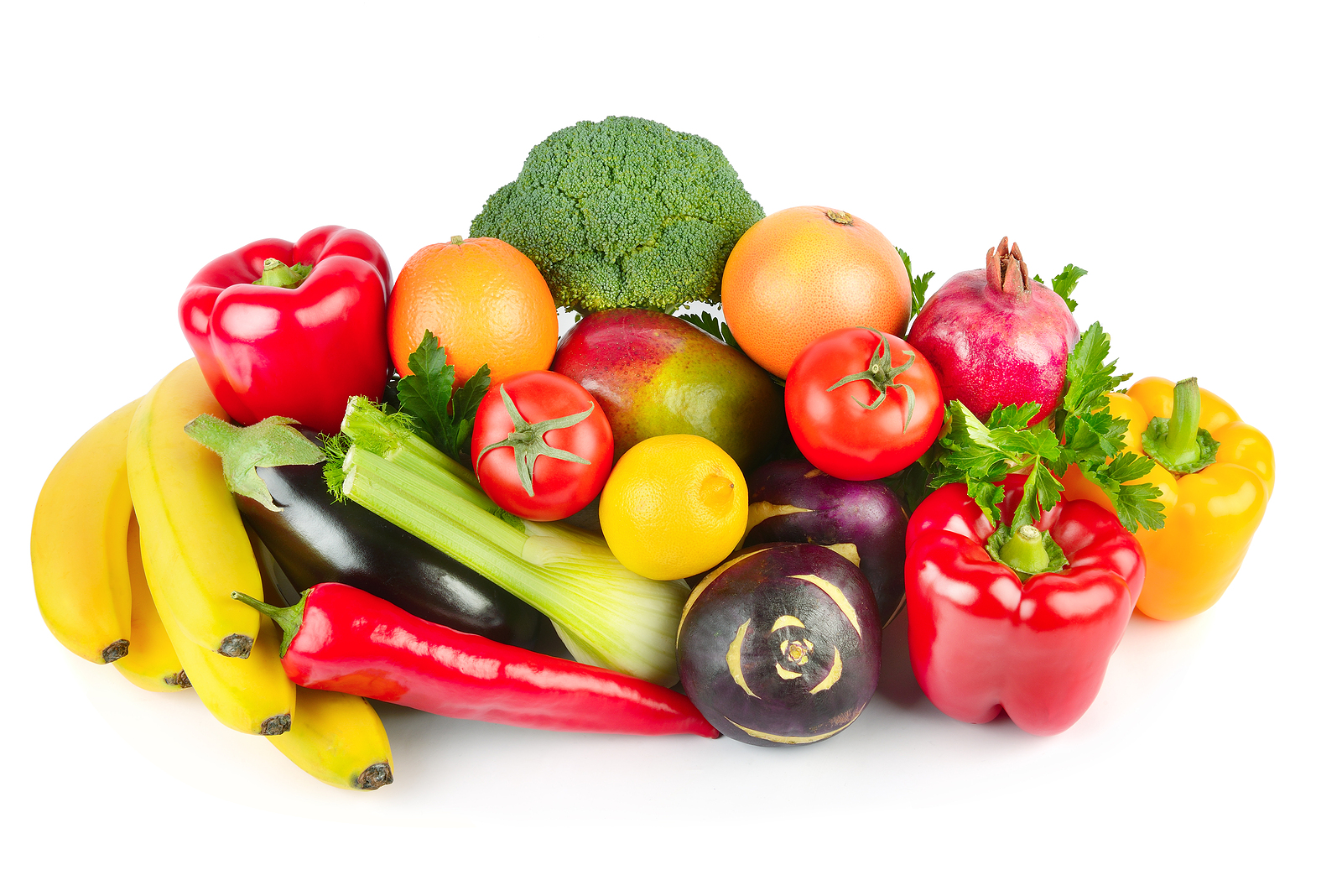 More vegetables than fruit in the five-a-day